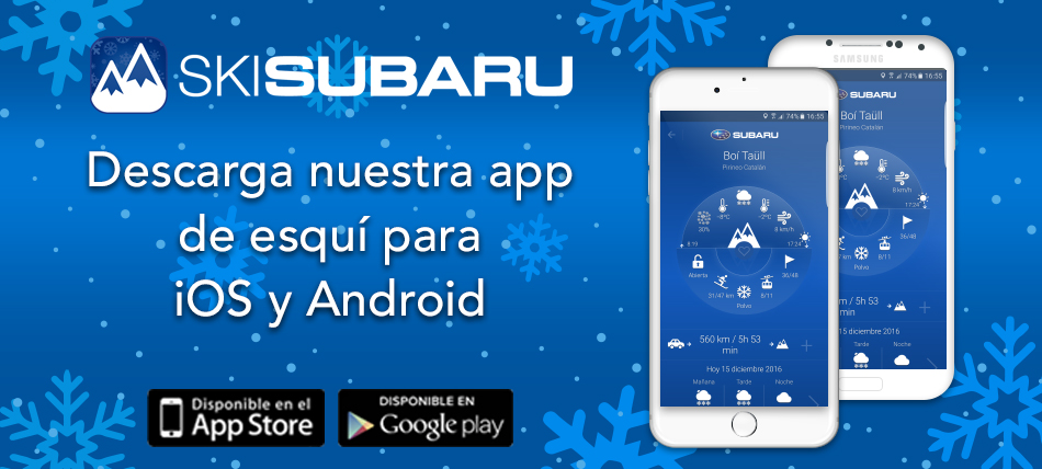 App Subaru Nieve