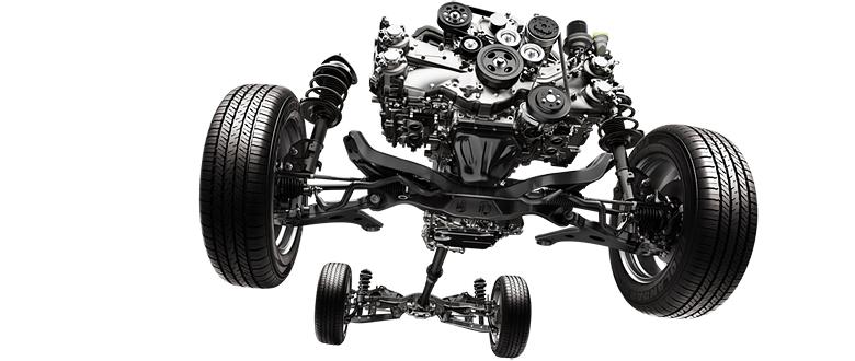 Symmetrical AWD Subaru