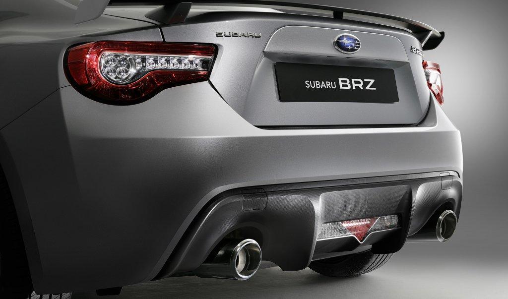 Subaru BRZ trasera