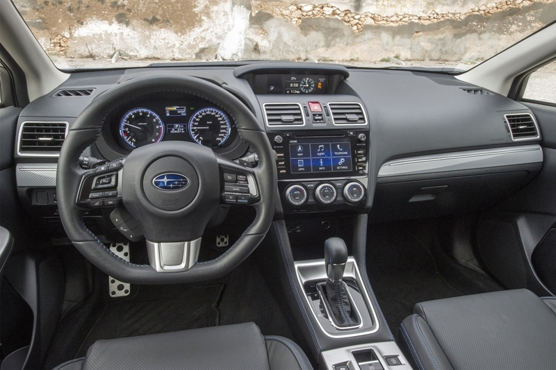 Subaru Levorg 1.6 interior