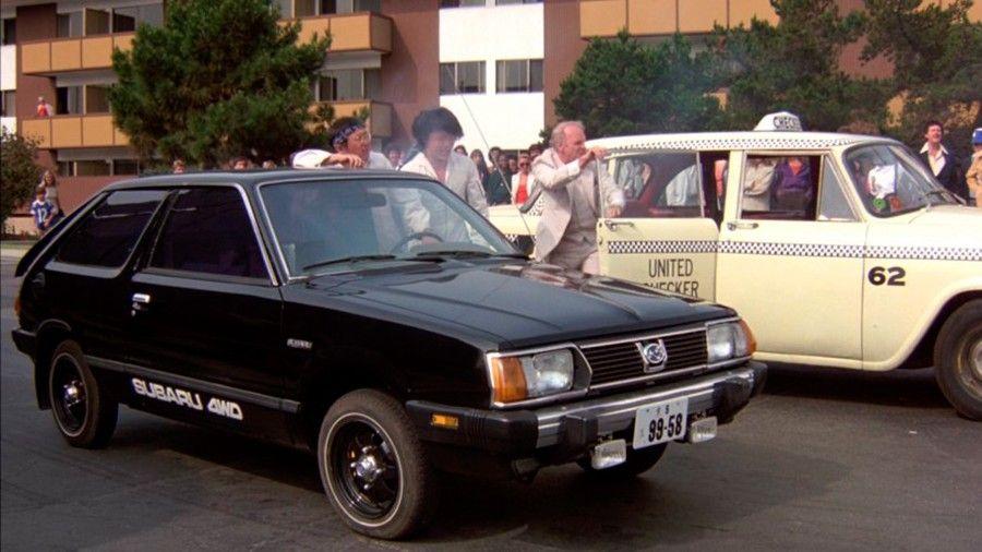 Subaru en Cannonball